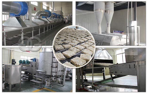 Large Capacity Fried Instant Noodle Processing Line