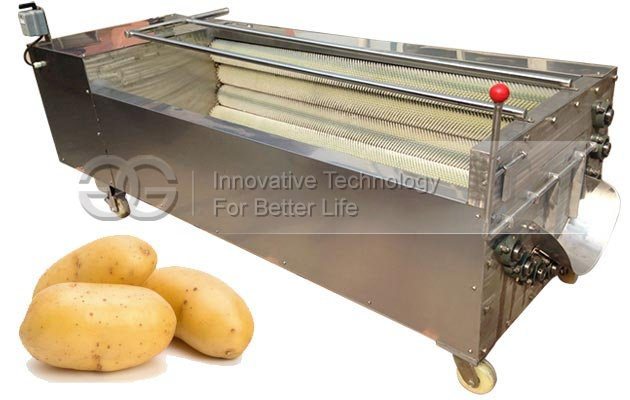 Commercial Fruit Vegetable Washing and Peeling Machine