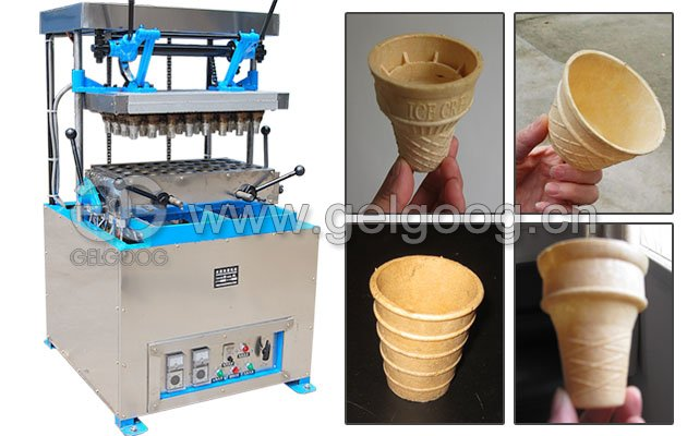 Wafer Ice Cream Cup Making Machine