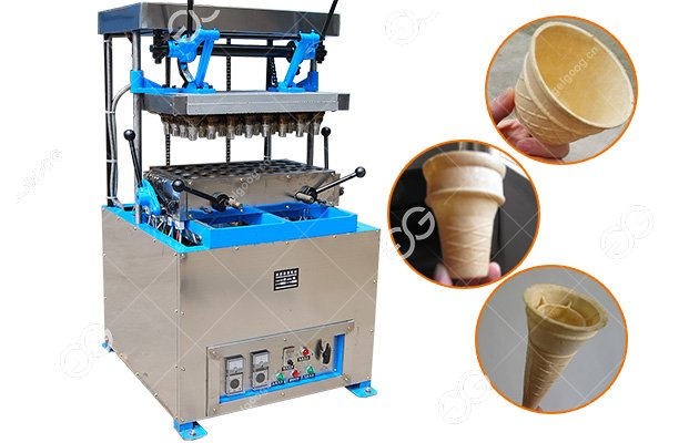 Edible Wafer Biscuit Cup Making Machine for Ice Cream