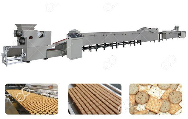 Gelgoog Hard and Soft Biscuit Production Line