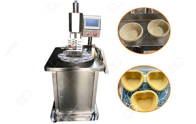 Automatic Egg Tart Shell Press Machine
