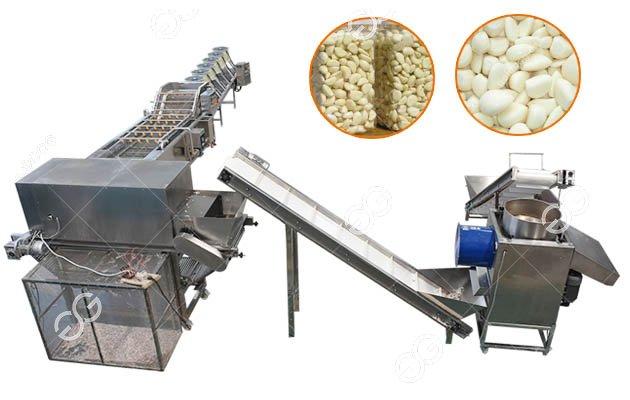 <b>Automatic Garlic Clove Separating Peeling Production Line</b>