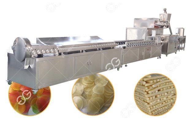 Shrimp Crackers Production Line|Prawn Cracker Making Machine|Krupuk udang