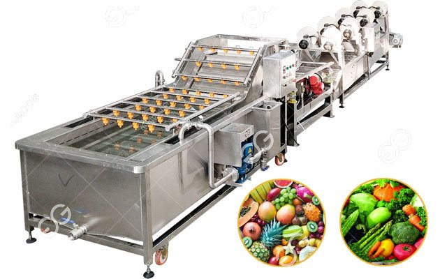 Gelgoog Fruit and Vegetable Washing and Drying Line