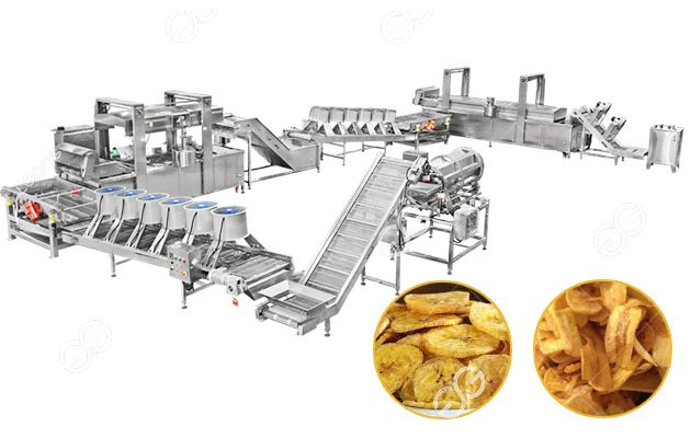 Automatic Plantain Banana Chips Production Line Gelgoog Brand
