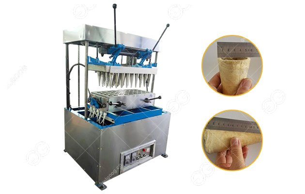 Business Pizza Cone Making Machine with 40 Moulds