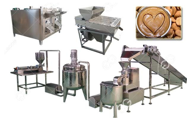 Small Scale Peanut Butter Production line Machinery 100 kg/h