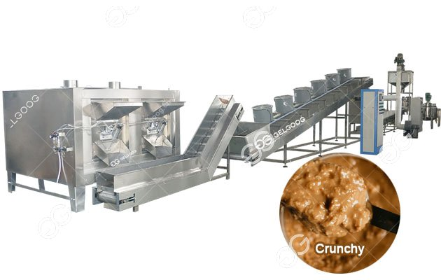 Gelgoog Crunchy Peanut Butter Manufacturing Plant 300kg/h