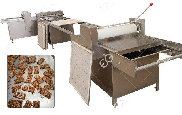 Peanut Brittle Kaju Katli Cutting Machine Barfi Making Machine