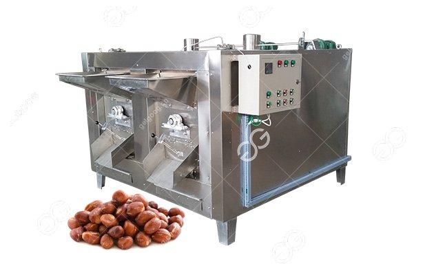 Rotary Gas Peanut Almond Sesame Roasting Machine