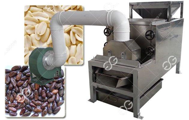 Roasted Cocoa Bean Peeling Machine for Cocoa Powder Production