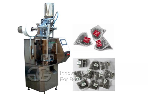Pyramid Tea Bag Sachet Packing Machine