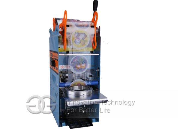 Manual Soybean Cup Sealing Machine