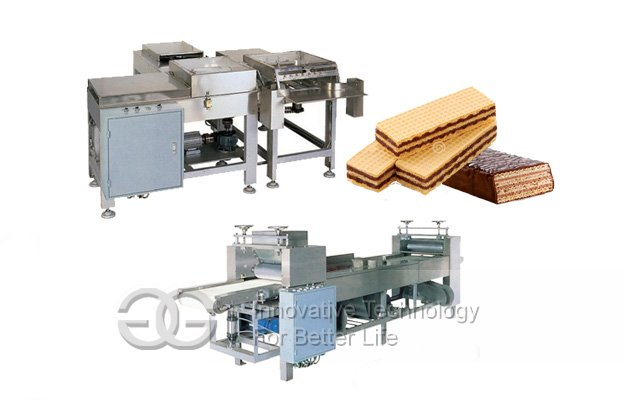 45 Mould Electric Heating Wafer Biscuit Production Line