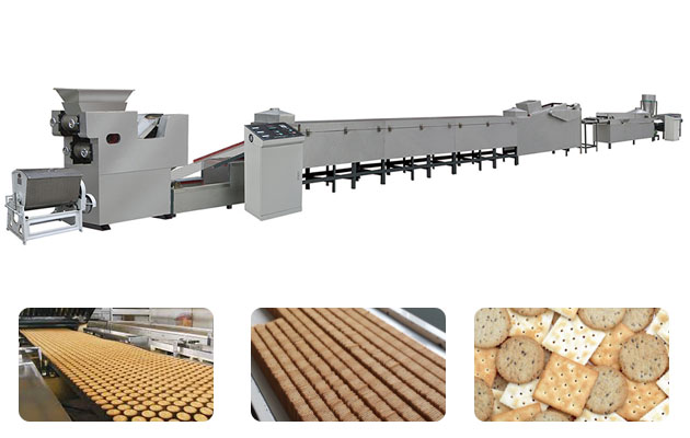 Fully Automatic Biscuit Making Machine Price 150 kgh