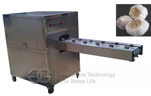 Garlic Root Concave Cutting Machine Hot Sale