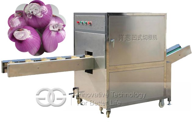 High Quality Onion Root Cutting Machine