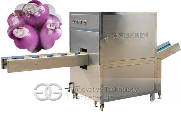 High Quality Onion Root Cutting Machine
