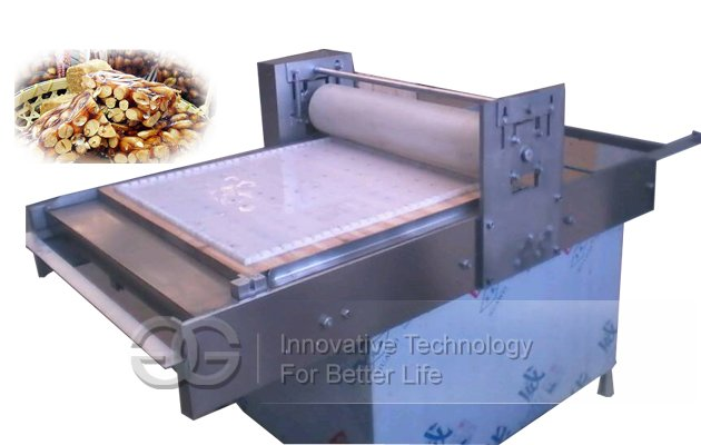 Semi-automatic Peanut Brittle Forming and Cutting Machine