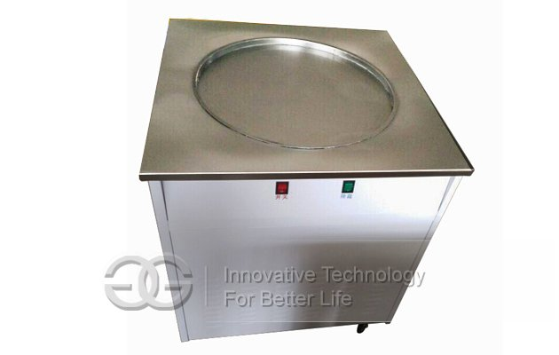 Big Pan Fried Ice Cream Machine 60cm