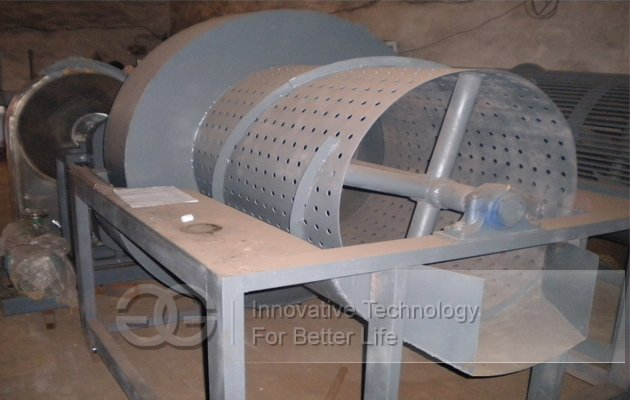 Automatic Rotary Drum Sweet Potato Destoner Machine