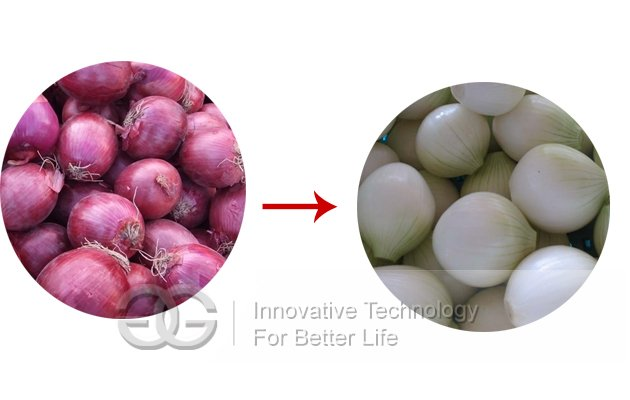 Onion Skin Removing Machine
