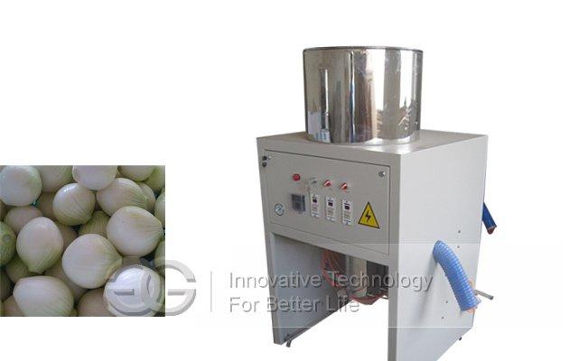 Small Model Onion Skin Removing Machine