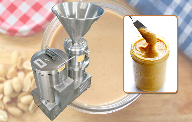 Commercial Peanut Butter Making Machine GGJMS-80