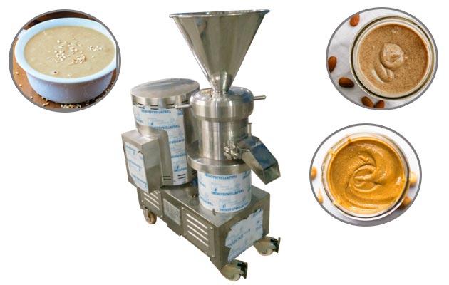 Commercial Smooth Peanut Almond Butter Grinder Machine GGJMS-130