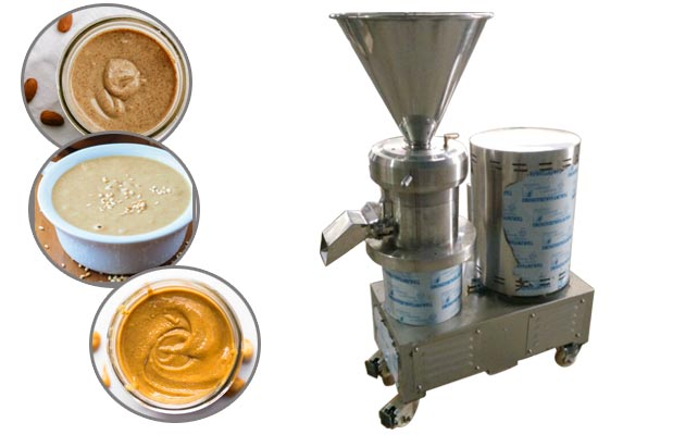 Commercial Smooth Peanut Almond Butter Grinder Machine GGJMS-130