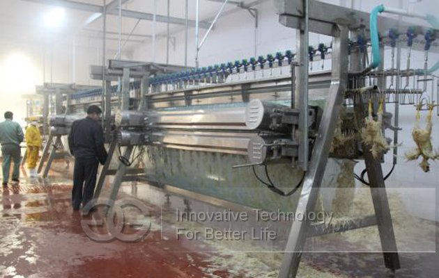 Commercial Good Quality A-Shaped Poultry Plucker Machine