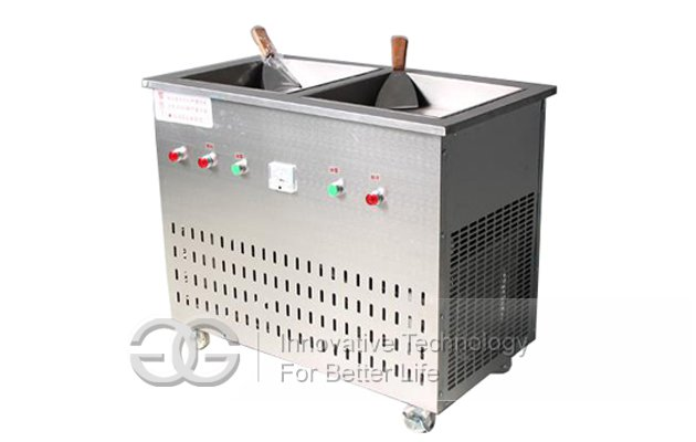 Thailand Ice Cream Fryer
