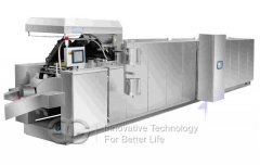 Wafer Biscuit Baking Machine Gas Type
