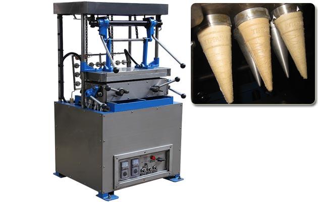 Ice Cream Cone Machine 24 Moulds