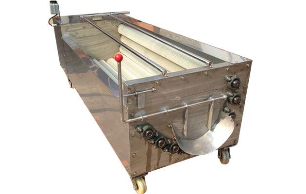 Commercial Fruit Vegetable Washing and Peeling Machine