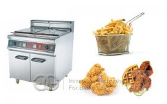 Vertical Temperature-controlled Fryer With Cabinet