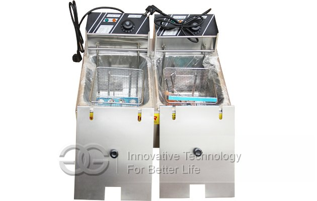 Desktop Gas Deep Fryer Machine