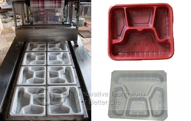 Automatic Tray Filling Sealing Machine
