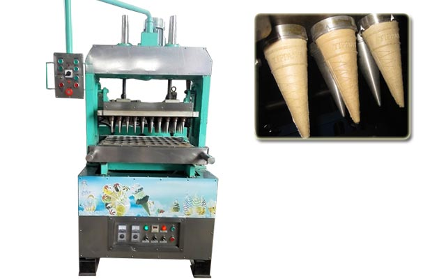 Automatic Ice cream Cone Wafer Product Line