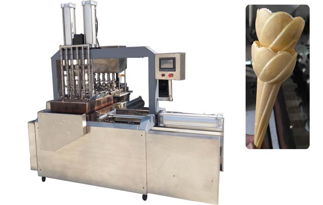 Automatic Ice cream Cone Wafer Baking Machine