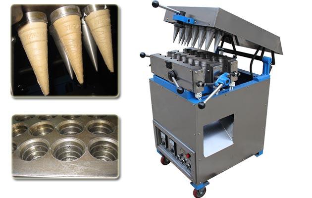Ice Cream Cone Wafer Forming Machine