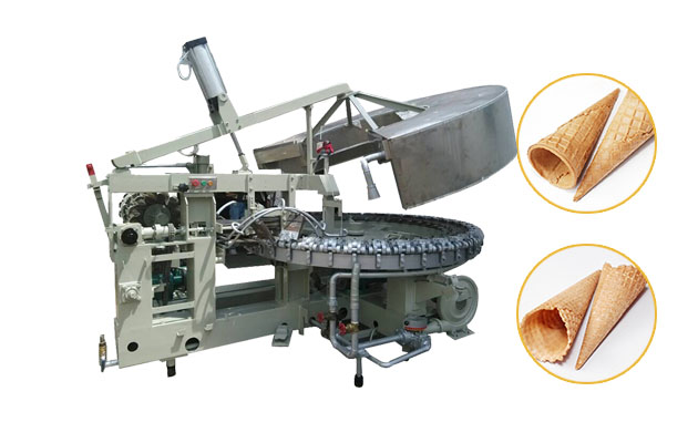 Automatic Ice Cream Cone Making Machine