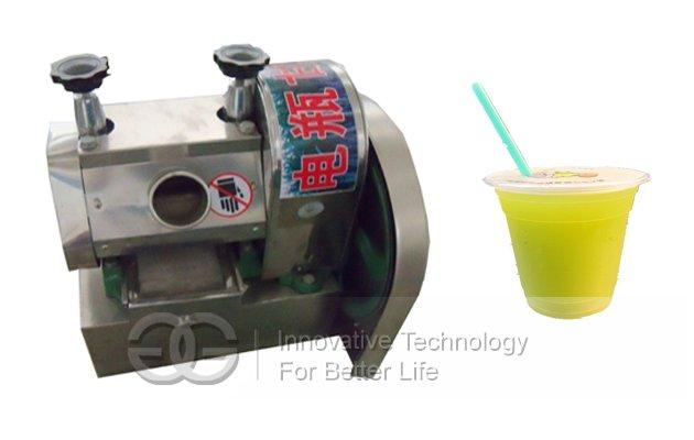 Battery Type Sugarcane Extractor Machine