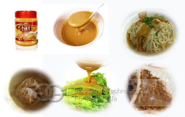 Hot Selling 500kg/h Sesame Butter Production Line