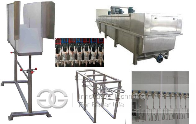 1500pcs/h Automatic Poultry Slaughtering Production Line