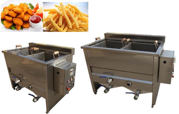 Double Tank Electric Snack Deep Fryer