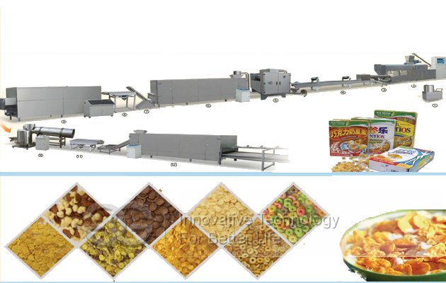 Automatic Puffed Snack Food Production Line
