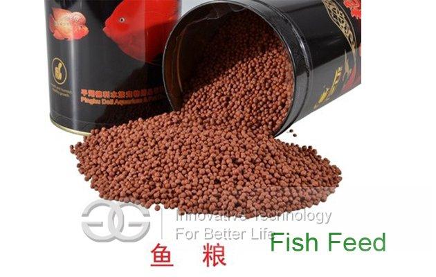 Fish Food Extruder Machine