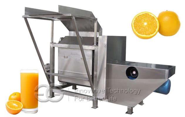 Orange Half Cutting And Juice Extracting Machine